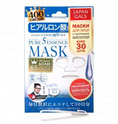 JAPAN GALS Маска с гиалуроновой кислотой / Pure Essence 30 шт