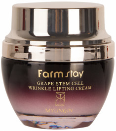 FARMSTAY Крем с лифтинг-эффектом с фитостволовыми клетками винограда / GRAPE STEM CELL 50 мл