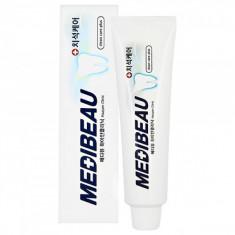 отбеливающая зубная паста juno medibeau white clinic toothpaste
