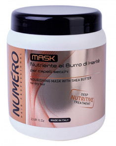 BRELIL PROFESSIONAL Маска с маслом карите для сухих волос / Numero 1000 мл