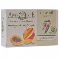 Aphrodite Мыло оливковое с манго и папайей 100 г