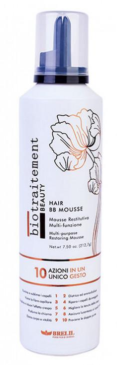 BRELIL PROFESSIONAL Мусс с эффектом кондиционирования и восстановления всех типов волос / HAIR ВВ MOUSSE Biotraitement Beauty 250 мл