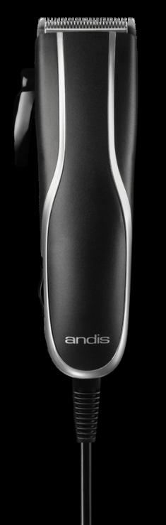 ANDIS Машинка для стрижки волос PM-10, 0.5 - 2.4 мм, сетевая, 4 насадки, 7 W