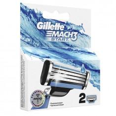 Gillette сменные кассеты Mach3 Start N2