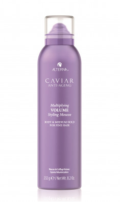 ALTERNA Мусс для придания объема и плотности с кератином / Caviar Anti-Aging Multiplying Volume Styling Mousse 232 г