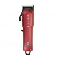 DEWAL PROFESSIONAL Машинка для стрижки Fгeestyle красная, 0.5-2мм, аккумуляторно-сетевая, 6 насадок