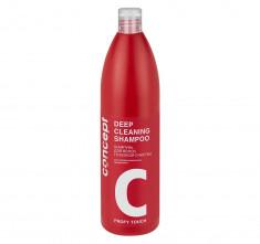 CONCEPT Шампунь глубокой очистки / PROFY TOUCH Deep Cleaning Shampoo 1000 мл