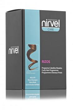 NIRVEL PROFESSIONAL Набор для вьющихся волос (шампунь 250 мл, маска 250 мл, гель 250 мл) / RIZOS PACK