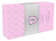 SAFE & CARE Перчатки нитриловые, перламутровые розовые, размер М / Safe & Care 100 шт