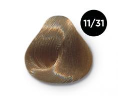 OLLIN PROFESSIONAL 11/31 краска для волос, специальный блондин золотисто-пепельный / OLLIN COLOR 100 мл