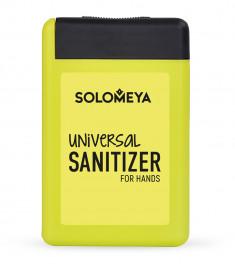 SOLOMEYA Средство антибактериальное универсальное для рук, лимон / Universal Sanitizer Spray for hands Lemon 20 мл