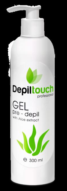 DEPILTOUCH PROFESSIONAL Гель с экстрактом алоэ перед депиляцией / Depiltouch professional 300 мл