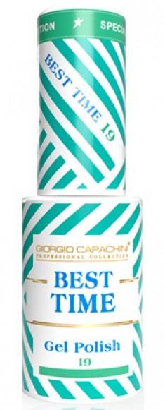 GIORGIO CAPACHINI 19 гель-лак трехфазный для ногтей / BEST TIME 8 мл