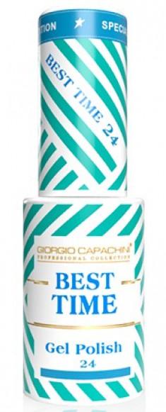 GIORGIO CAPACHINI 24 гель-лак трехфазный для ногтей / BEST TIME 8 мл
