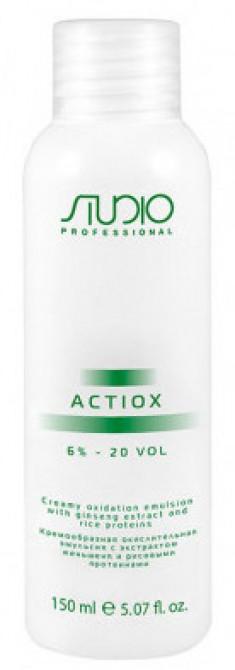 STUDIO PROFESSIONAL Эмульсия окислительная кремообразная с экстрактом женьшеня и рисовыми протеинами 6% / ActiOx 150 мл