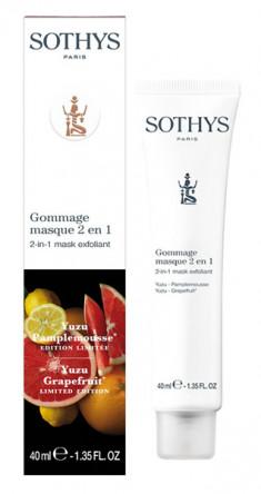 SOTHYS Скраб-маска антиоксидантная Грейпфрут и юзу 40 мл