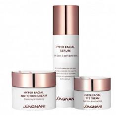 набор уходовый с пептидами jungnani hyper facial nutrition skin care 3 set