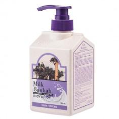 лосьон для тела с ароматом детской пудры milkbaobab body lotion baby powder