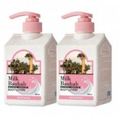 лосьон для тела с ароматом белого мускуса milkbaobab body lotion white musk