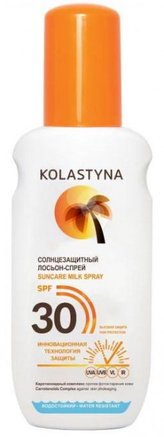 KOLASTYNA Лосьон-спрей солнцезащитный SPF 30 150 мл