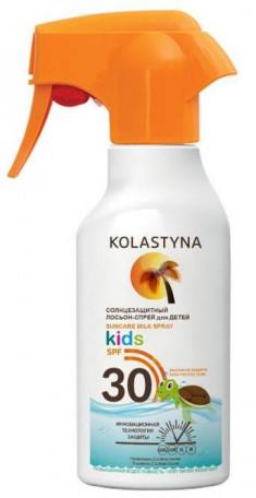 KOLASTYNA Лосьон-спрей солнцезащитный для детей SPF 30 200 мл