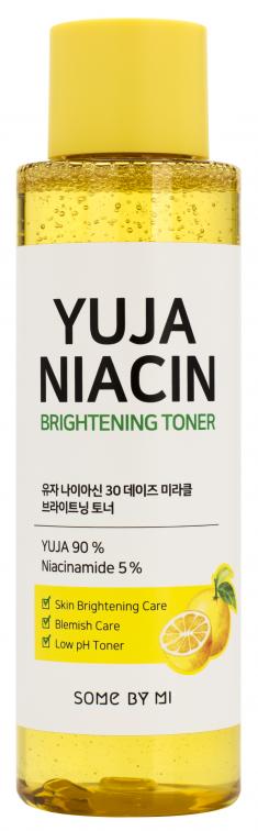 SOME BY MI Тонер выравнивающий с экстрактом юдзу / Yuja Niacinamide 150 мл