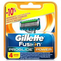 Gillette Fusion ProGlide Power сменные кассеты 4 шт