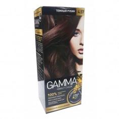 Gamma Perfect Color Стойкая крем-краска для волос 4.57 темный рубин 50г