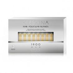 Лабо Кресцина 1900 для мужчин лосьон против выпадения волос Усиленная формула флаконы по 3,5мл №10+10 Crescina