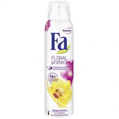 Fa Дезодорант-антиперспирант аэрозоль Floral Protect Орхидея & Фиалка 150мл