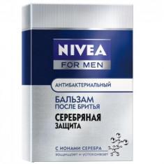 Нивея для мужчин бальзам после бритья серебряная защита 100мл NIVEA