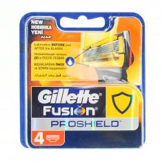 Gillette Fusion ProShield сменные кассеты  4 шт