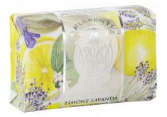 LA FLORENTINA Мыло натуральное, лимон и лаванда / Lemon & Lavender 200 г