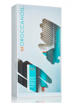 MOROCCANOIL Набор промо 2020 (восстанавливающее средство для тонких, светлых волос 100 мл, щётка для волос Лопатка) TREATMENT