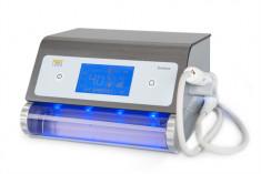 FEETLINER Аппарат педикюрный со спреем и подсветкой, серый, 40000 оборотов в минуту / FeetLiner Breeze LED