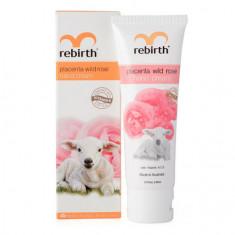 Rebirth, Крем для рук Placenta Wild Rose, 75 мл