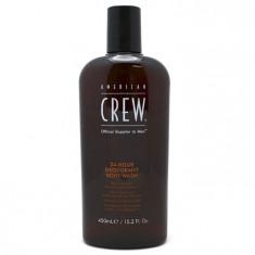 American Crew 24-Hour Deodorant Body Wash Гель для душа дезодорирующий 450мл