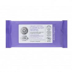 Натура Сиберика Влажные салфетки мицеллярные для чувствительной кожи органические сертифицированные 10шт. NATURA SIBERICA
