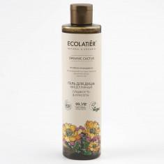 Ecolatier GREEN Мицелярный гель для душа Гладкость и Красота Кактус 350мл
