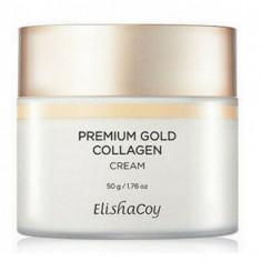 высокоувлажняющий и питательный крем премиум класса elishacoy premium gold collagen cream