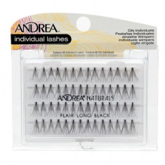Andrea, Пучки ресниц Perma, безузелковые, длинные, черные