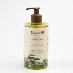 Ecolatier GREEN Мыло для рук Мягкость и нежность Олива 460мл