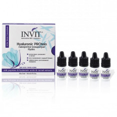 Invit Hyaluronic PROtein сыворотка-концентрат 3 мл N10