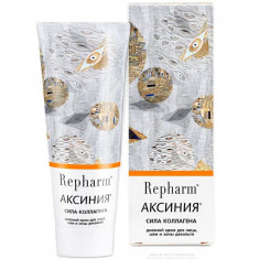 Repharm Аксиния сила коллагена дневной крем для лица шеи и зоны декольте 50г РЕФАРМ