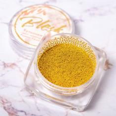Blesk, Бульонки металлические, золотые, 0,4 мм