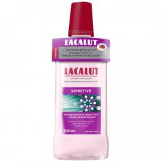 Lacalut Ополаскиватель для полости рта Сенситив антибактериальный 500мл