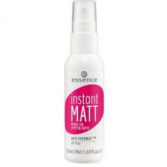 Essence Спрей для фиксации макияжа Instant Matt Make-Up