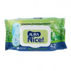 Aura Nice Влажная туалетная бумага с крышкой N42