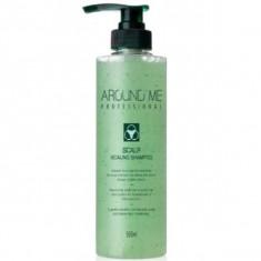 отшелушивающий шампунь для волос welcos around me scalp scaling shampoo