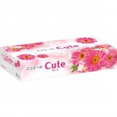 Elleair Салфетки бумажные в коробке Cute 160шт